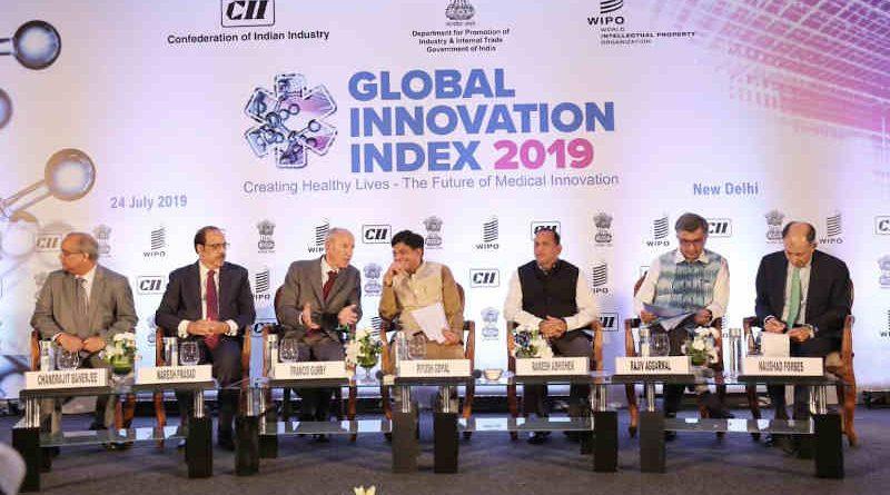 Global Innovation Index 2019 (GII). Photo: GII