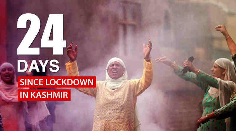 Congress Says People of Kashmir Imprisoned by Modi Govt. Photo: Congress (file photo)