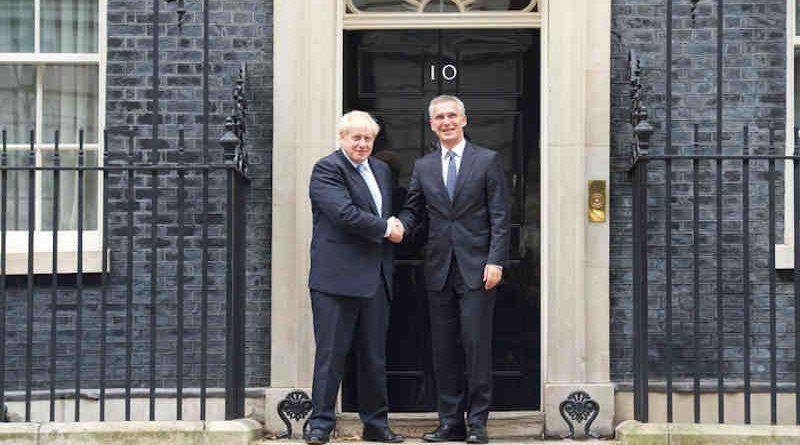 Prime Minister Boris Johnson with NATO Secretary General Jens Stoltenberg. Photo: NATO