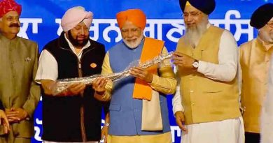 PM Narendra Modi opening the Kartarpur corridor on November 9, 2019. Photo: Congress