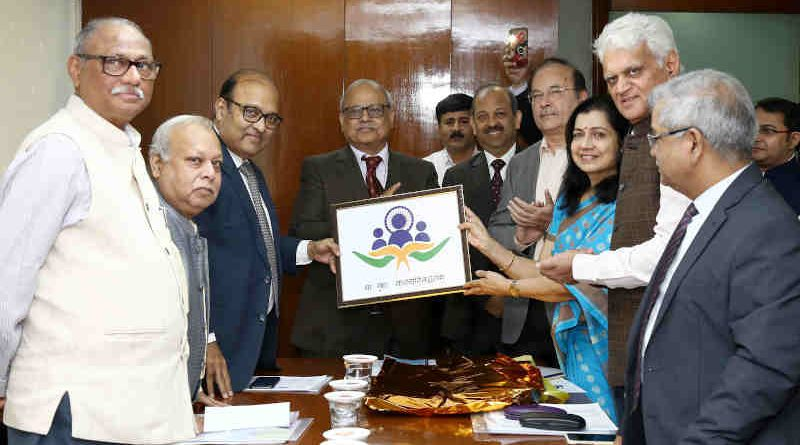 The Chairman Lokpal, Justice Pinaki Chandra Ghose, launching the logo of Lokpal in New Delhi on November 26, 2019. Photo: PIB (file photo)