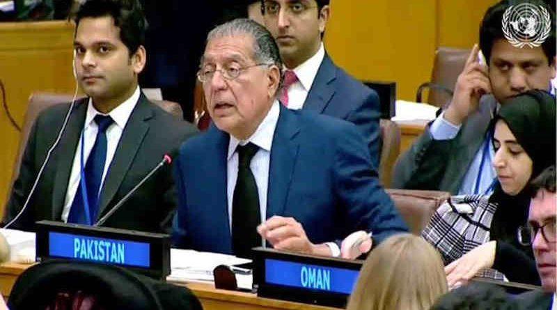 Permanent Representative of Pakistan to the United Nations, Munir Akram. Photo: UN / Govt of Pakistan (file photo)