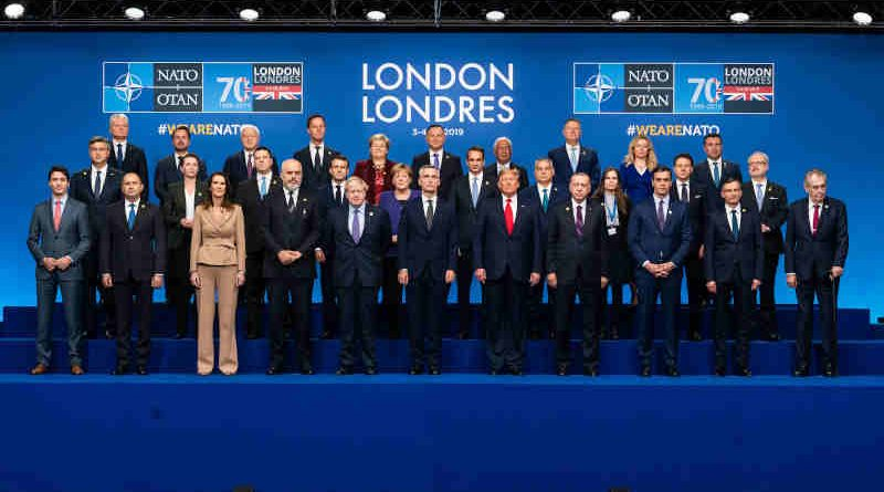 Family portrait of NATO Heads of State and/or Government with ceremony for the 70th anniversary. Photo: NATO