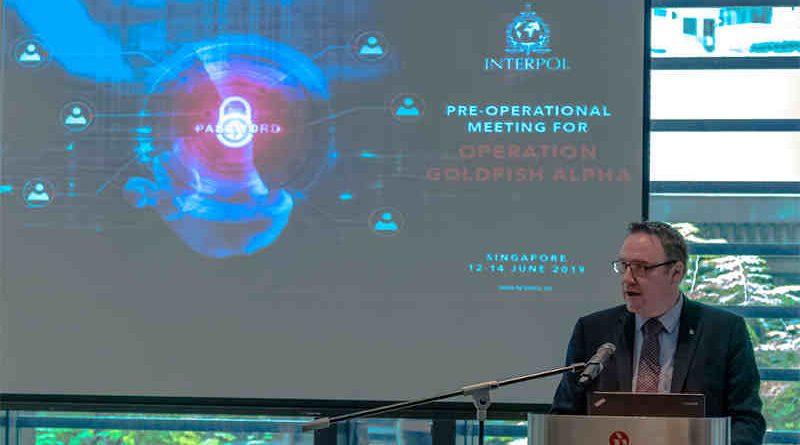 INTERPOL's Director of Cybercrime, Craig Jones. Photo: INTERPOL
