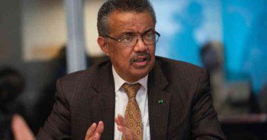 WHO Director-General Dr Tedros Adhanom Ghebreyesus. Photo: WHO