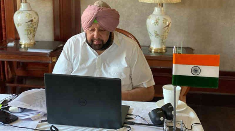 Chief Minister of Punjab Amarinder Singh