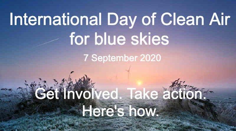International Day of Clean Air for Blue Skies. Photo: WMO / Anna Zuidema