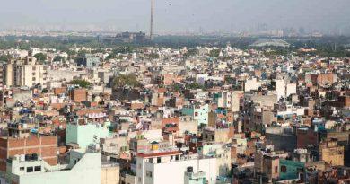 Hutments in Delhi. Photo: UN Human Rights