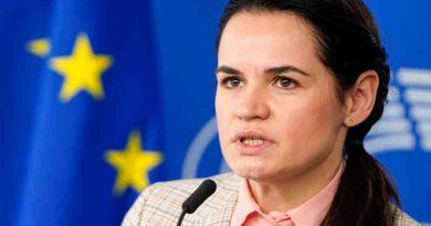 Belarusian opposition leader Sviatlana Tsikhanouskaya. Photo: European Parliament
