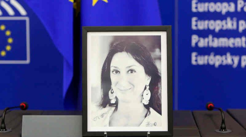 Maltese investigative journalist Daphne Caruana Galizia was murdered in a car bomb explosion in October 2017. Photo: European Parliament