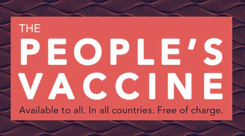 People's Vaccine. Photo: UNAIDS