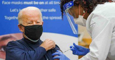 U.S. President-elect Joe Biden receiving Covid-19 vaccine on December 21, 2020. Photo: Joe Biden / Twitter