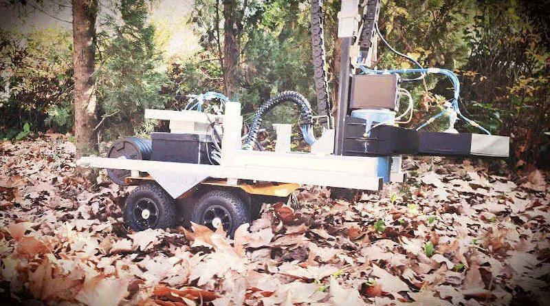 Explosive Ordnance Disposal Robot. Photo: NATO