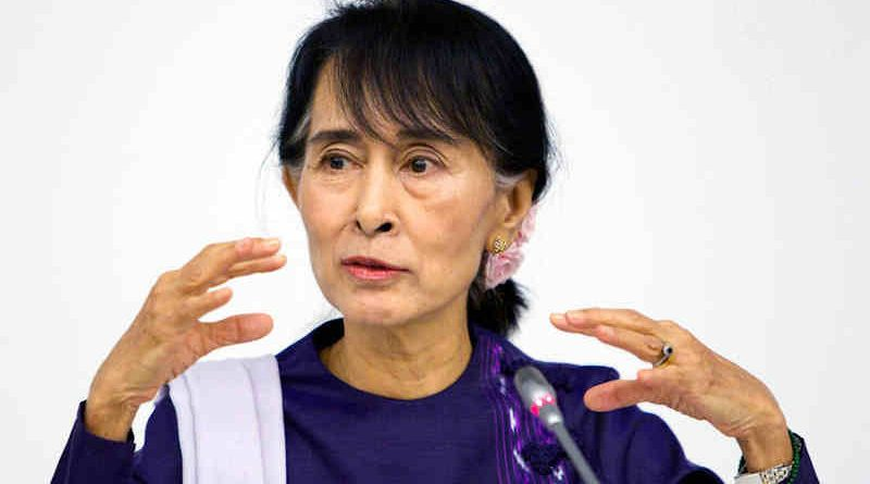 Aung San Suu Kyi, General Secretary of the National League for Democracy of Myanmar, addresses a meeting at the United Nations in New York. Photo: UN / Rick Bajornas (file photo)