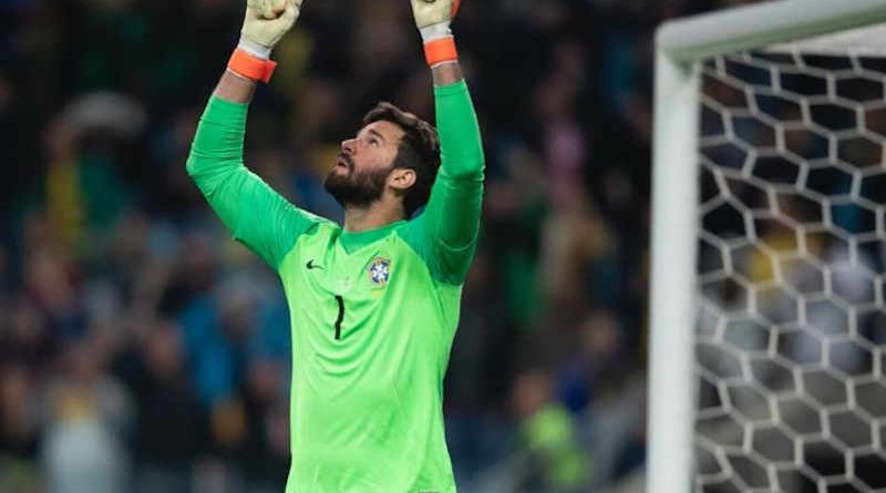 Alisson Becker Leads Campaign to Help Covid-19 Patients. Photo: WHO