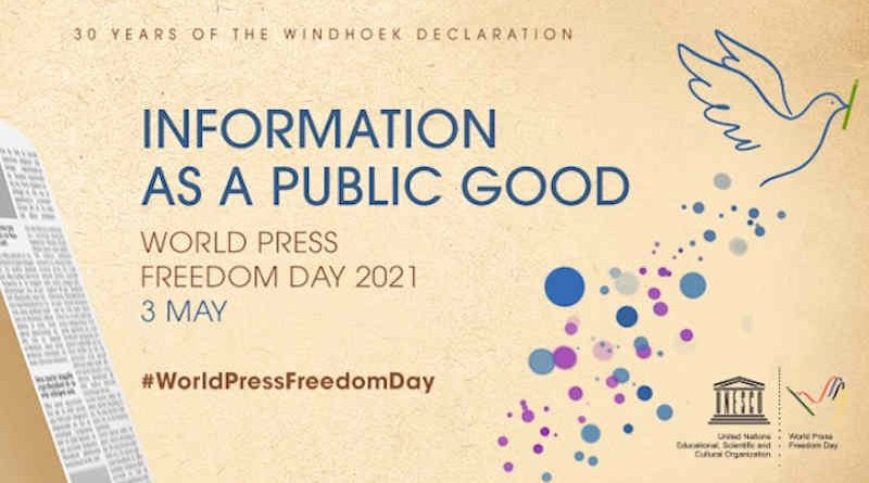 World Press Freedom Day: Information as a Public Good. Photo: UNESCO