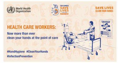 WHO Calls for Better Hand Hygiene
