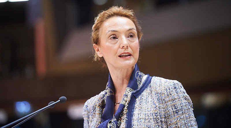 Secretary General of the 47-nation Council of Europe (COE), Marija Pejčinović Burić. Photo: COE