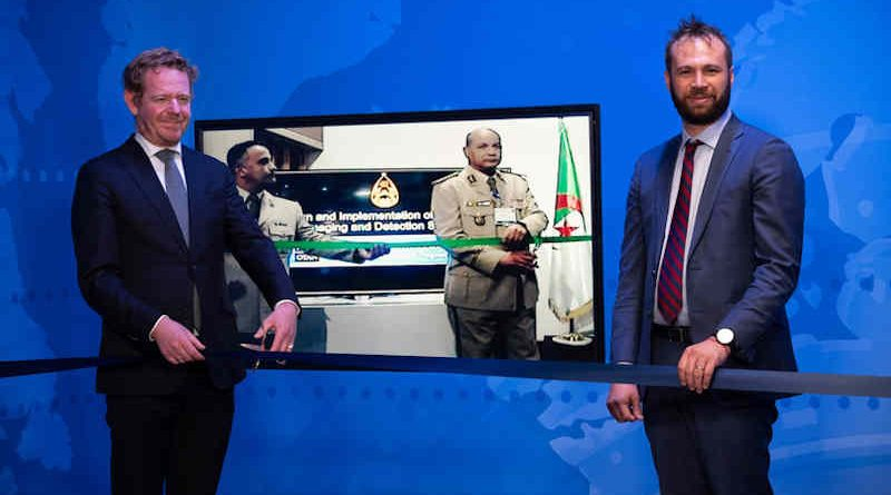 NATO and Algeria strengthen scientific cooperation against terrorism. Photo: NATO (May 17, 2021)