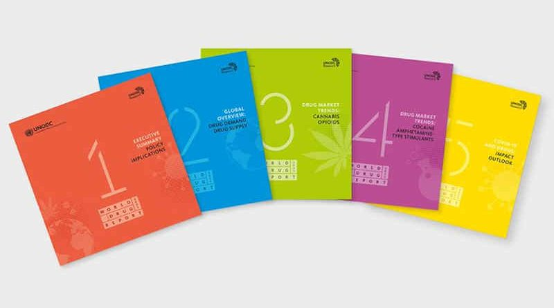 2021 World Drug Report. Photo: UNODC