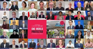 "One World Protected""- Gavi COVAX Advance Market Commitment (AMC) Summit on June 2, 2021. Photo: Gavi"
