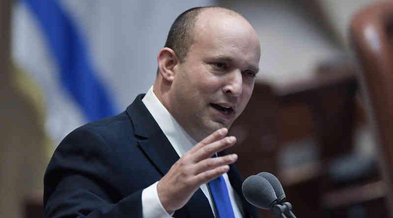 Naftali Bennett sworn in as Israel's 13th Prime Minister on 13 Jun 2021. Photo: GPO/Kobi Gideon