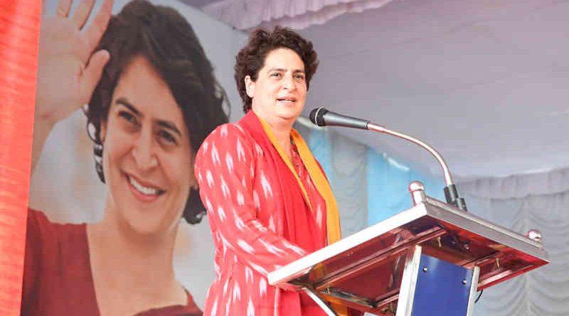 Congress leader Priyanka Gandhi. Photo: Congress