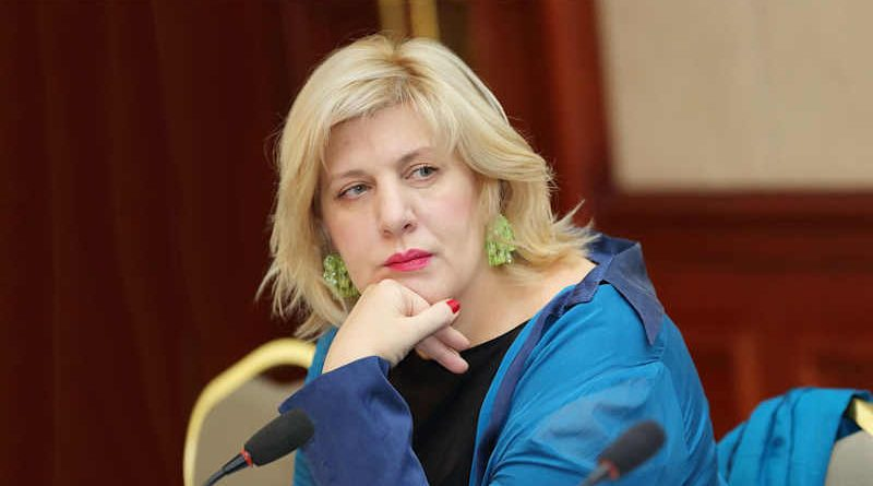 Dunja Mijatović, Council of Europe Commissioner for Human Rights. Photo: Council of Europe